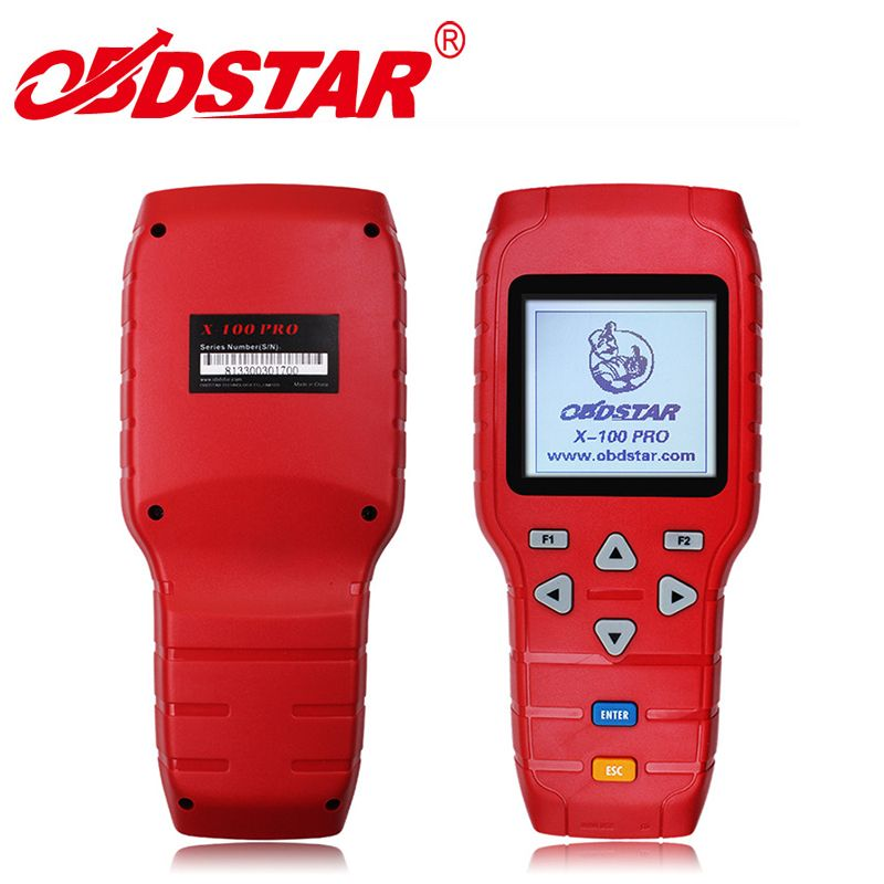 Hot sale Auto Key Programmer OBDSTAR X100 Pro C+D+E Mileage Correction Tool Odometer Adjustment via OBD with EEPROM IMMO Adapter
