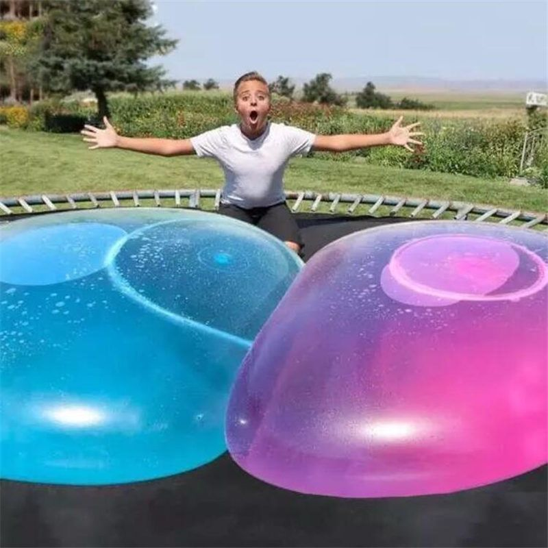 Big amazing bubble ball Water-filled interactive rubber balls Outdoor Inflatable funny ballon toys For Children Adult