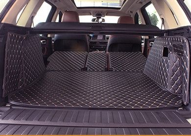 wholy surrounded customized car trunk mats for BMW X5 F15 5seats durable boot carpets cargo rugs for X5