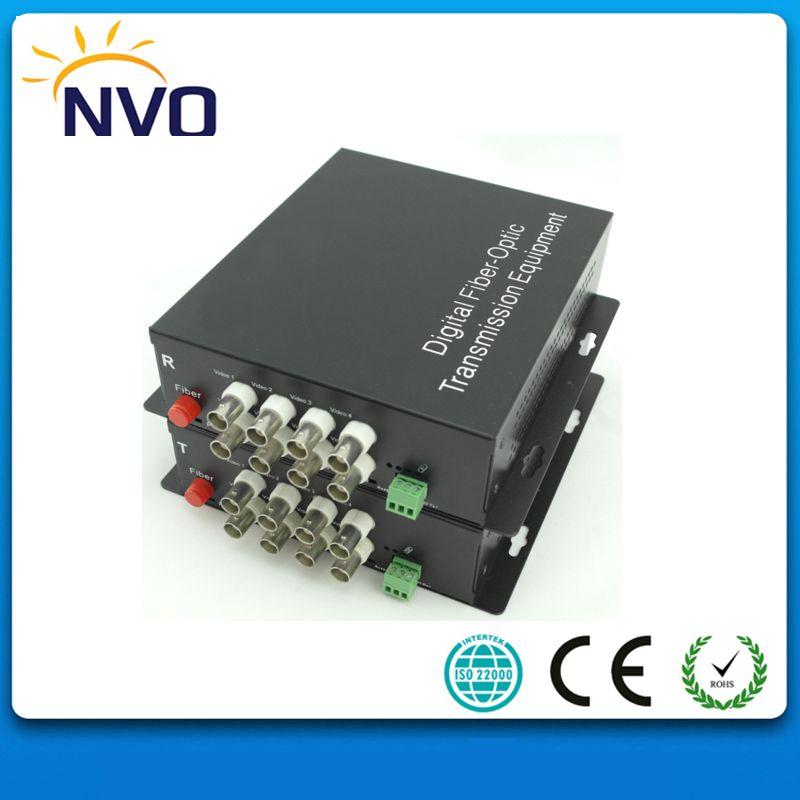 MM, bidirektionale RS485 Daten, 2 KM, FC Faser, Amerikanischen Ladegerät, 8CH CCTV Digitale Video Optische Multiplexer, Video Optical Converter