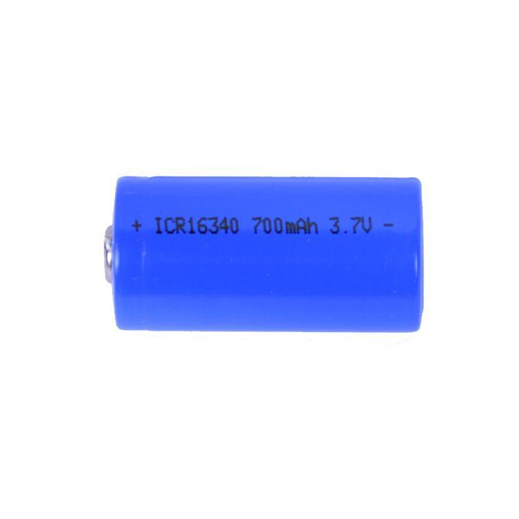 Batterie Rechargeable Li-ion 2018 ICR 16340 700 mAh 3.7 V