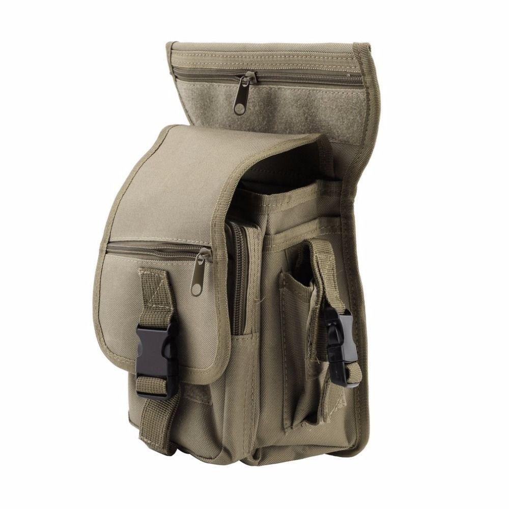 Außen Taktische Militärische Drop Beinbeutel Panel Utility Taille Gürtel Tasche kostenloser versand