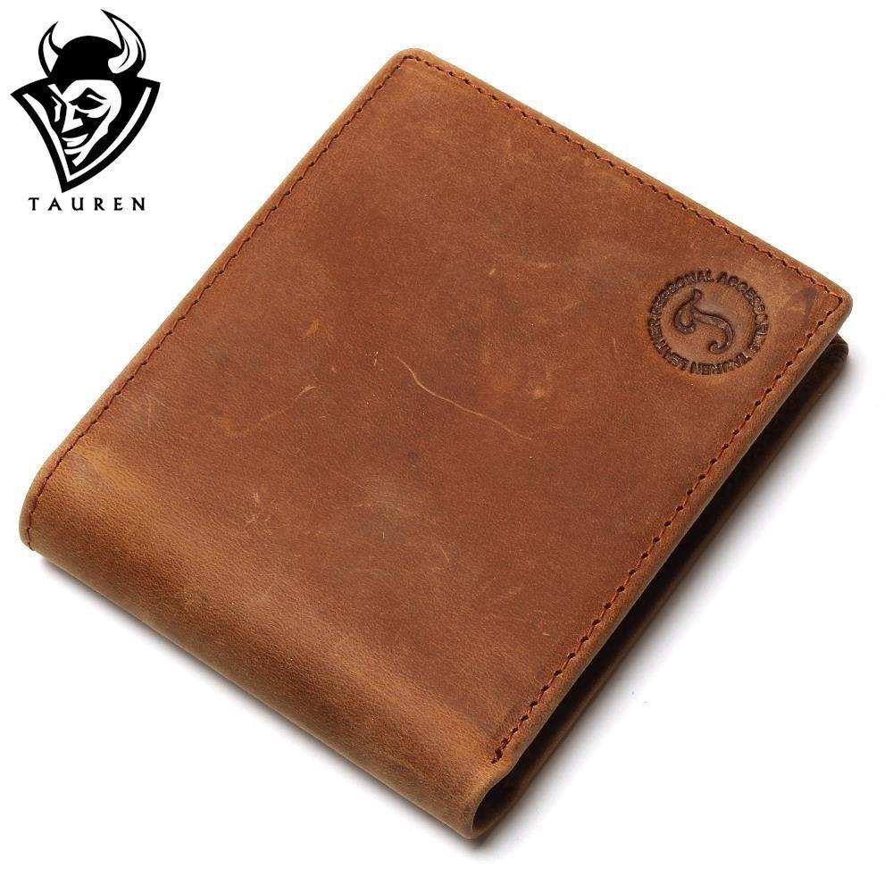 Бесплатная доставка Лидер продаж Для мужчин Натуральная Crazy Horse кожа Малый Женские Кошельки PocketBook кошелек низкая цена