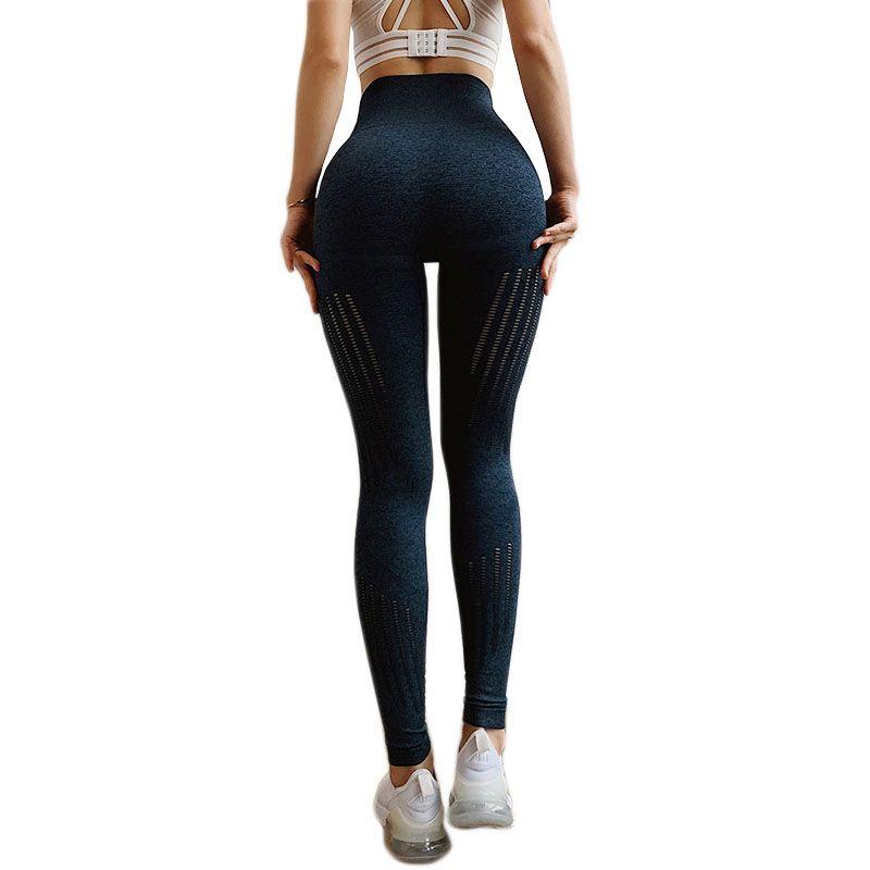 Women Yoga Pants Hip Push Up Seamlessly Sexy Leggings High Waist Fitness Yoga Pants Sexy Peach Hip Jogging Yoga Sports Leggings