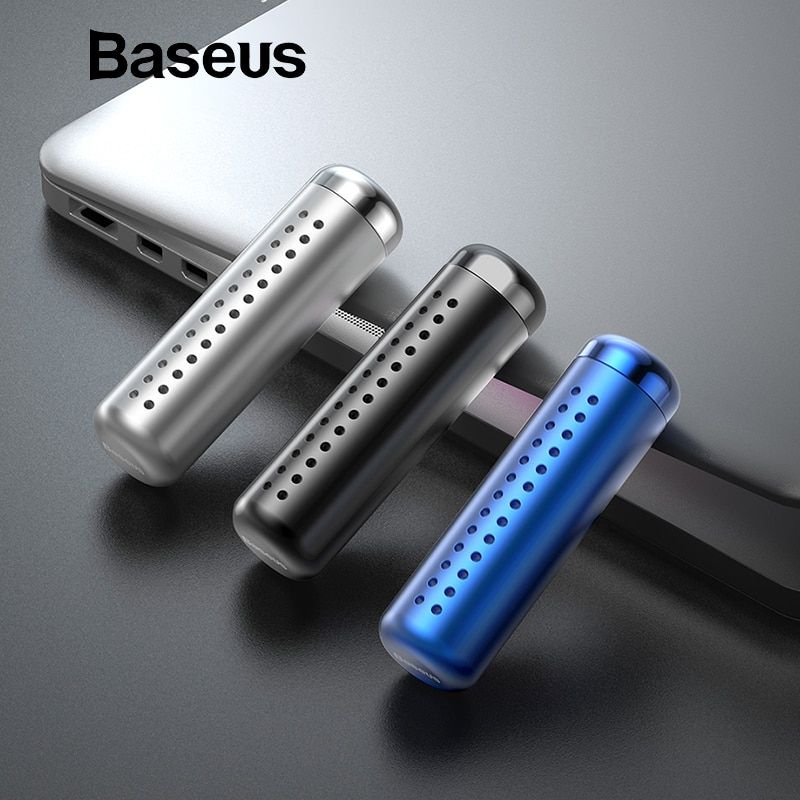 Baseus Metal Aromatherapy Car Holder Air Freshener for Auto Air Vent Freshener Air Condition Clip Diffuser Solid Perfume
