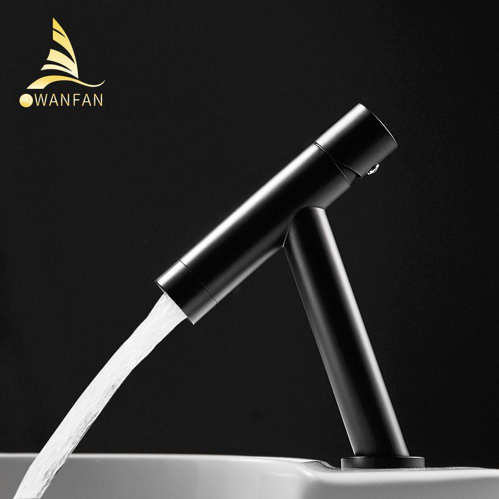 Robinet de lavabo rétro noir robinet robinets salle de bains évier robinet mitigeur trou pont Vintage lavage chaud froid mélangeur robinet grue 855775