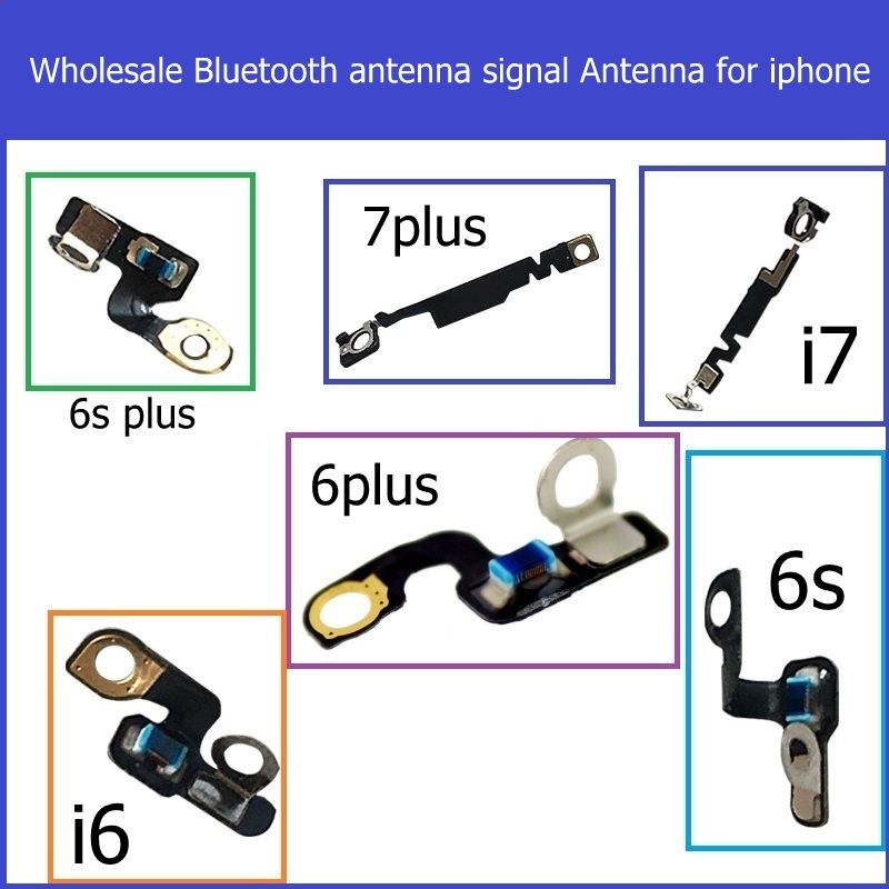 Wholesale Bluetooth antenna signal Antenna For iPhone 6 6s 7 plus antenna inner flex cable Webcam on the right replacement parts