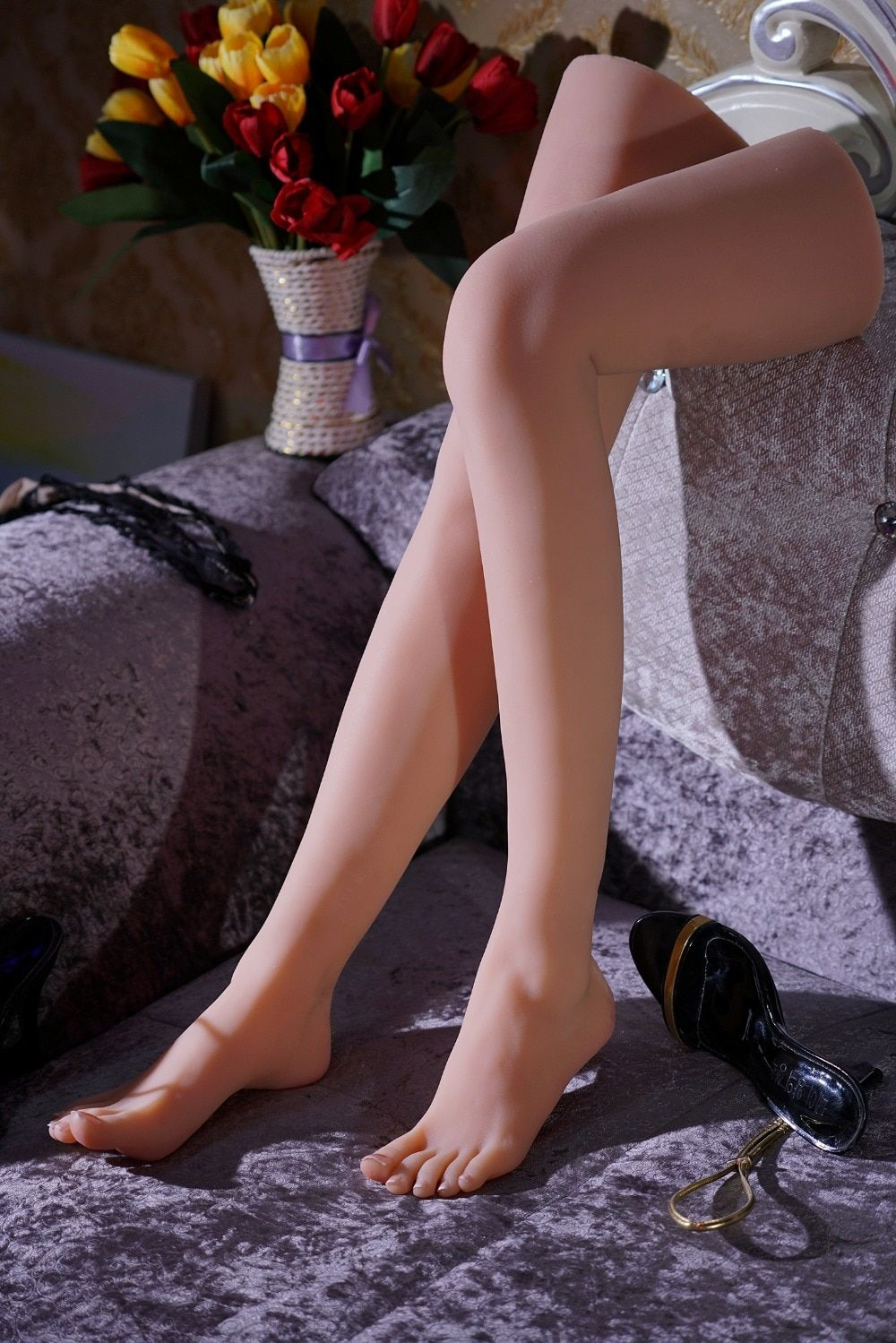Neueste mädchen ballerina tänzerin turnerin fuß füße spitzen zehen fetisch spielzeug modell