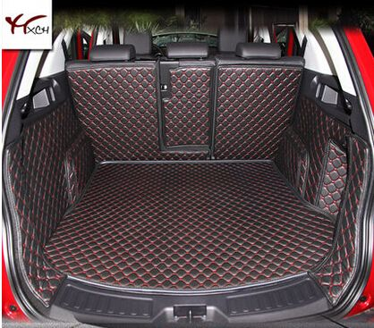 Good mats! Special trunk mats for Land Rover Discovery Sport 5seats 2017-2014 waterproof boot carpets cargo liner,Free shipping