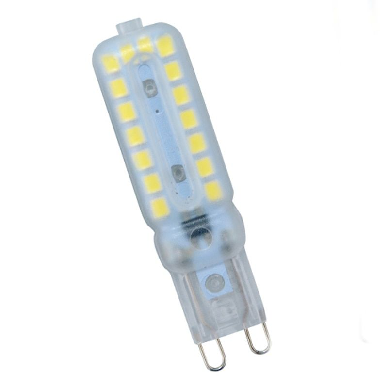 6Pcs 220V G9 32 LED Lamp Bulb 2835 SMD LED Light Dimmable 7W Corn Bulb Luz SpotLight Replace Halogen Lighting