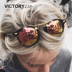 Ronde Brésil Chaude lunettes de Soleil Hommes Femmes Miroir Lunettes de Soleil Homme Femme Shades UV400 Boutique en ligne Célèbre Marque Designer dropshipping