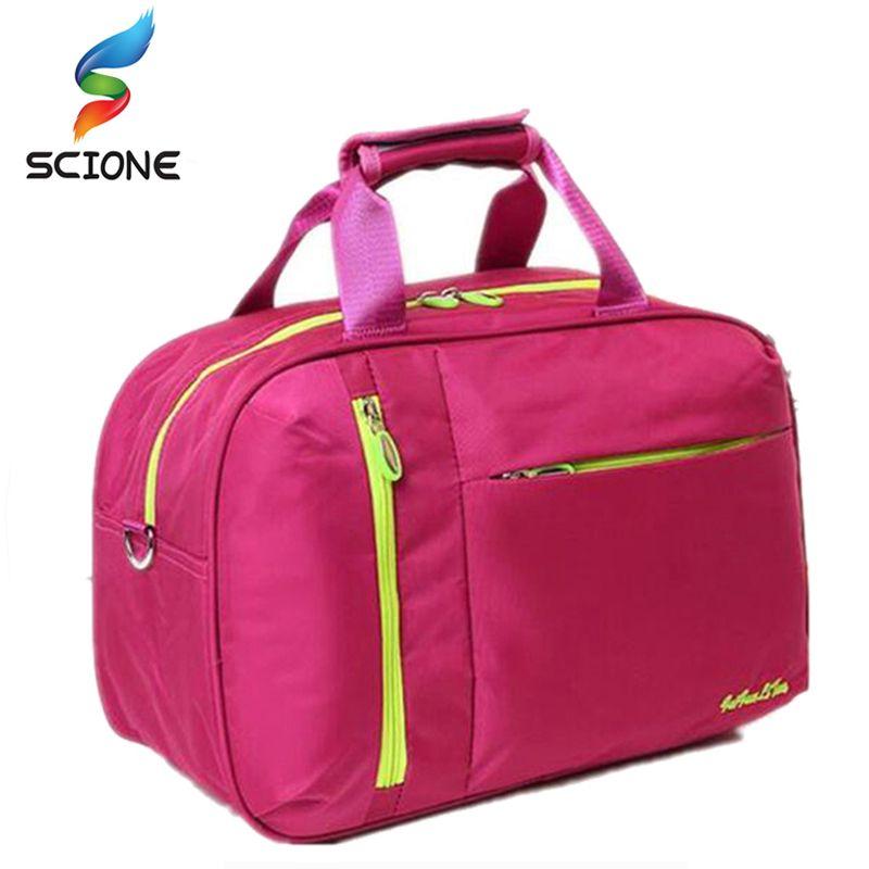 2017 Top Quality Nylon Outdoor Male Sport Bag New Women Gym Shoulder Bag Traveling Storage Handbag For Men Fitness Sports Bag