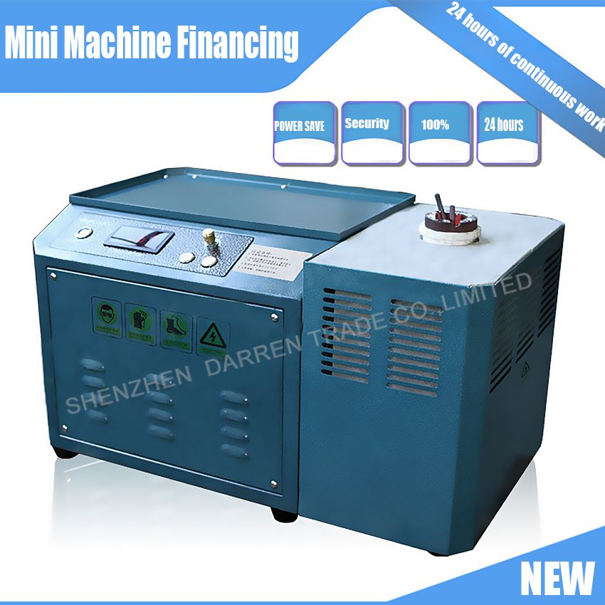 New Mini MOLTEN GOLD MACHINE 220V 1KG GOLD, COPPER, SILVER,INDUCTION MELTING FURNACE,GOLD MELTING FURNACE
