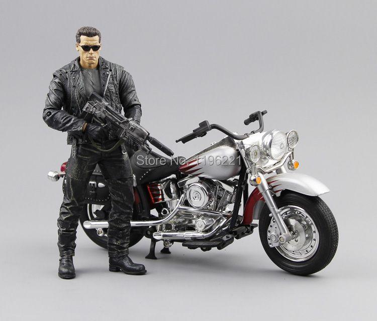 (PAS de boîte) livraison Gratuite NECA Terminator 2 Action Figure T800 Cyberdyne Showdown PVC Figure Jouet 7