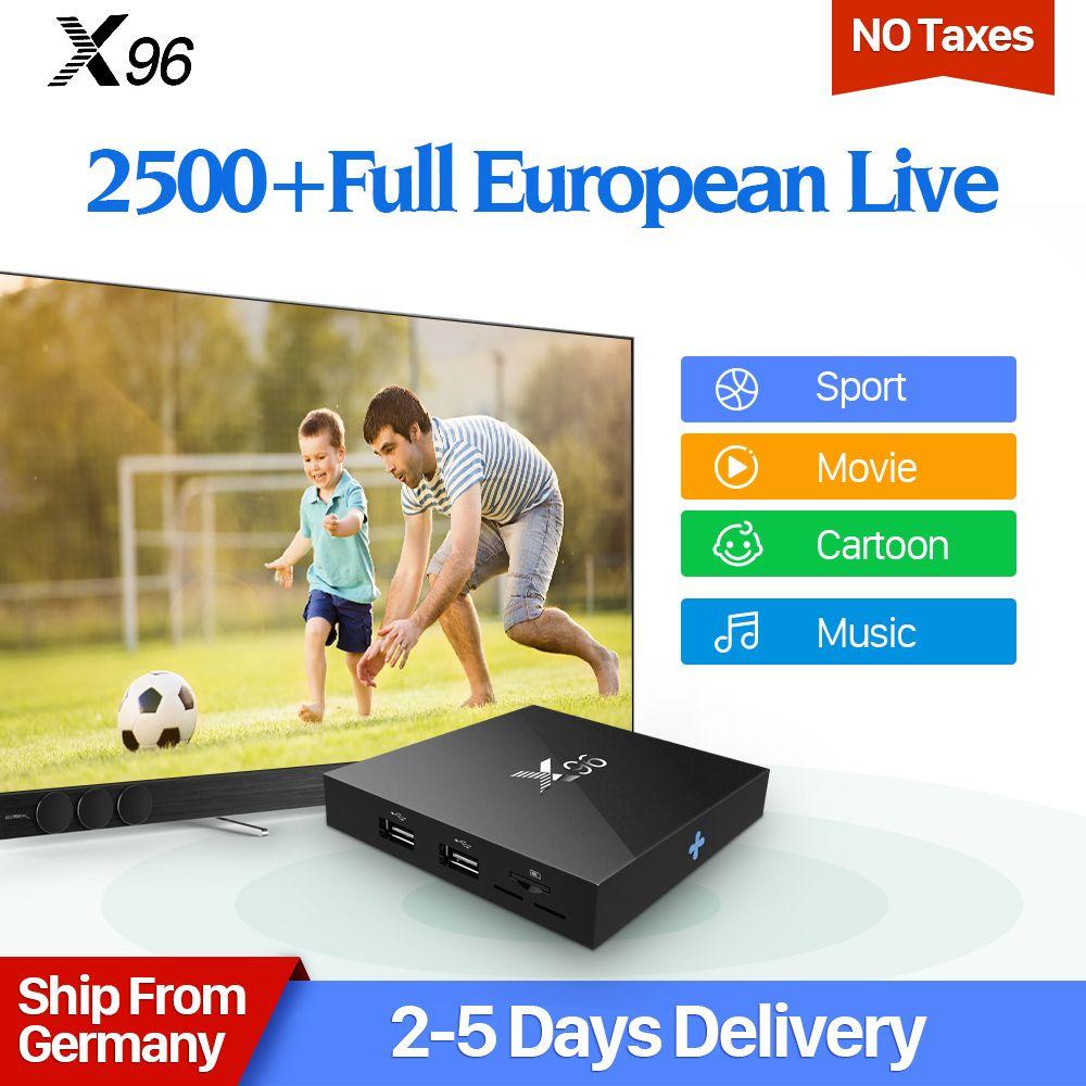X96 Sweden IPTV Box Android 6.0 IUDTV IPTV Subscription Germany Italy UK Spain Greece Albania Scandinavia Swedish IPTV Box