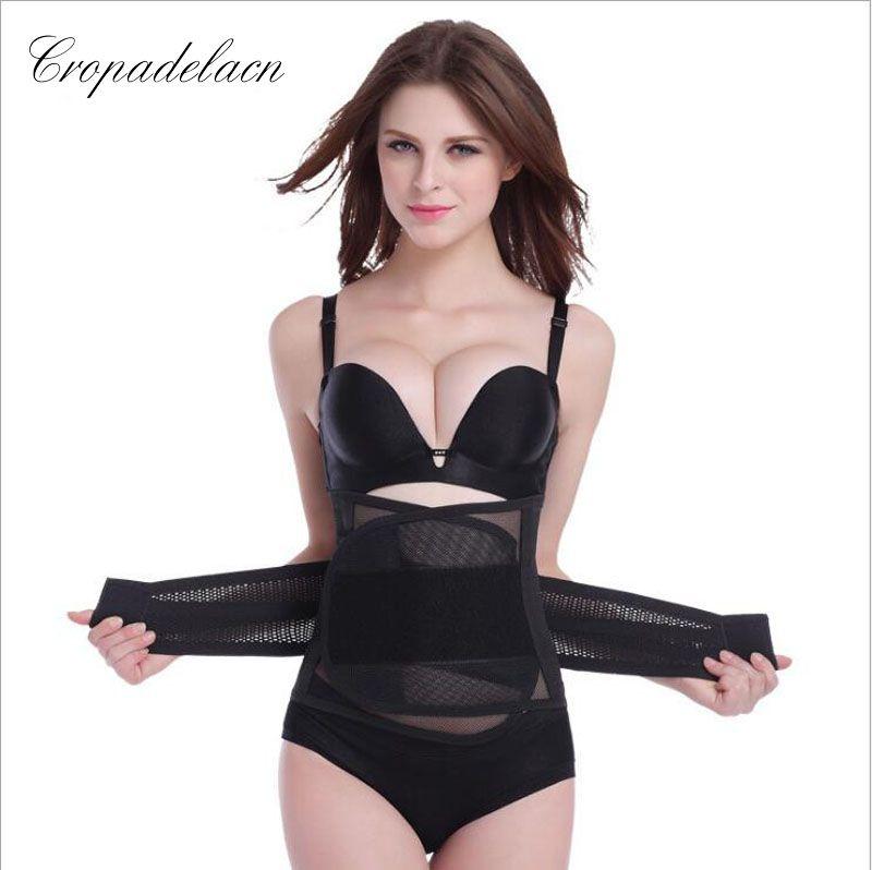 Luxus Frauen Atmungs Abnehmen wraps Body Shaper Bauch-steuer Schärpen Shapewear Taille Trainer Korsetts MR054
