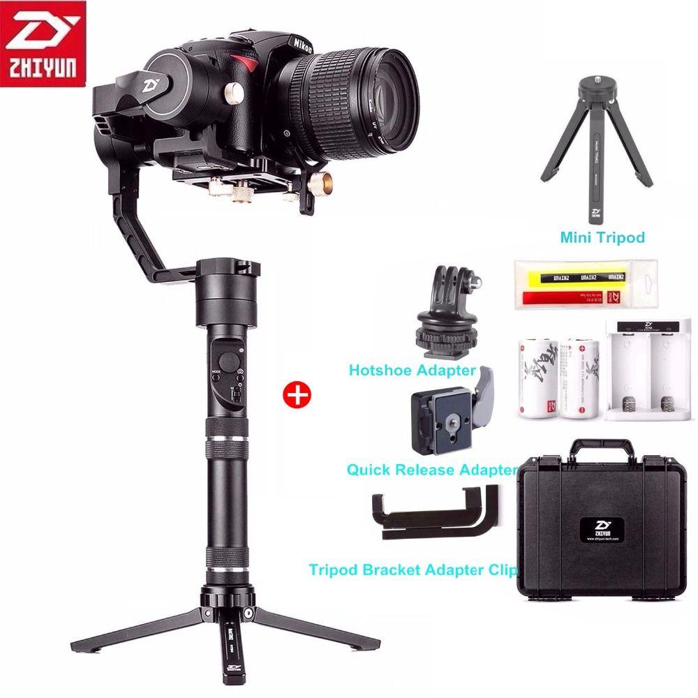 Zhiyun Kran Plus 3 Achse Handheld Gimbal Stabilisator 2,5 kg 5.5lb Nutzlast für Sony Panasonic Canon Nikon Fujifilm Dsrls Kamera