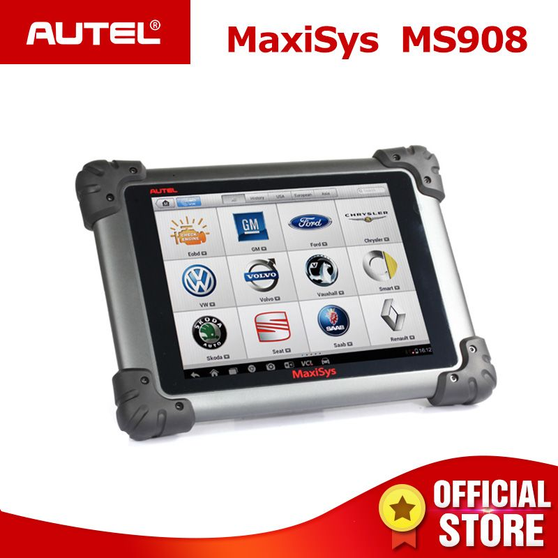 Autel MaxiSys MS908 Auto Diagnostic Scanner Wireless Car Repair Tool Vehicle Diagnostic Equipment