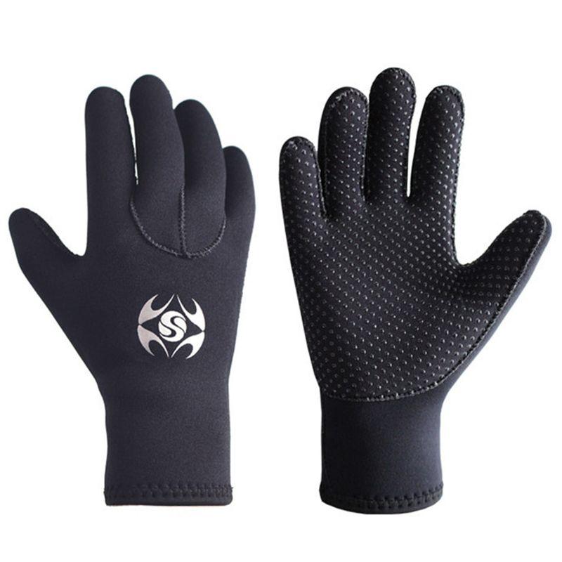 3mm Neopren Männer Frauen Warme Tauchen Handschuhe Windsurfen Surfen Schnorcheln Speerfischen Bootfahren Fischer Handschuhe kältefest