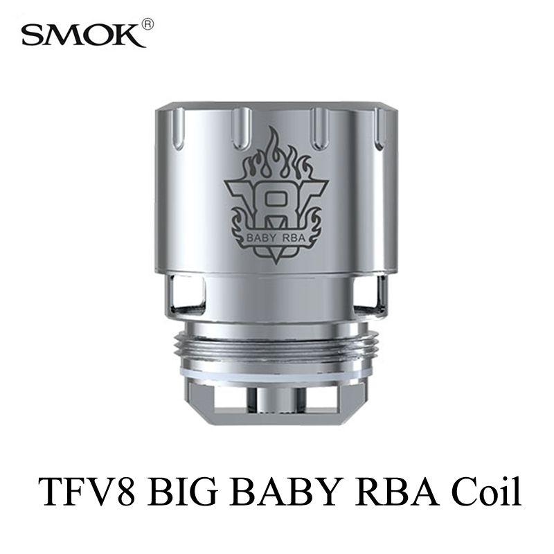 Electronic Cigarette Cores SMOK TFV8 BIG BABY RBA Coil Stick V8 Atomizer Core G150 G320 G-Priv H-Priv GX2/4 T-Priv RBA Coil S039