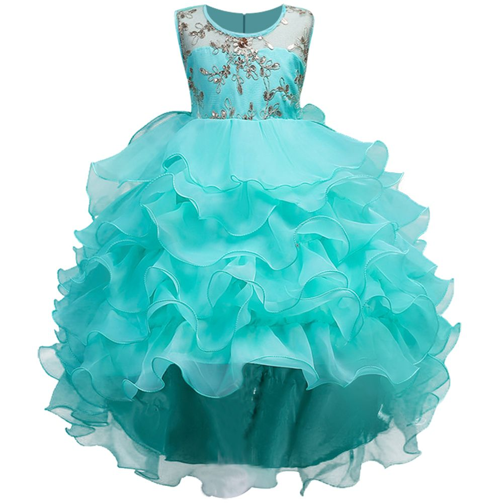 Kids Costume Children Dress Girls Wedding Dress 2018 Summer Tutu princess Dresses For Girls Sleeveless Teenager Clothes Vestidos