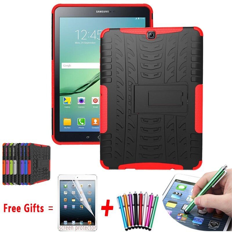 Housse de protection pour Samsung Galaxy Tab S2 9.7 béquille coque en silicone Hyun pour Samsung Tab S2 9.7 étui de T815 T810 T813N T819N