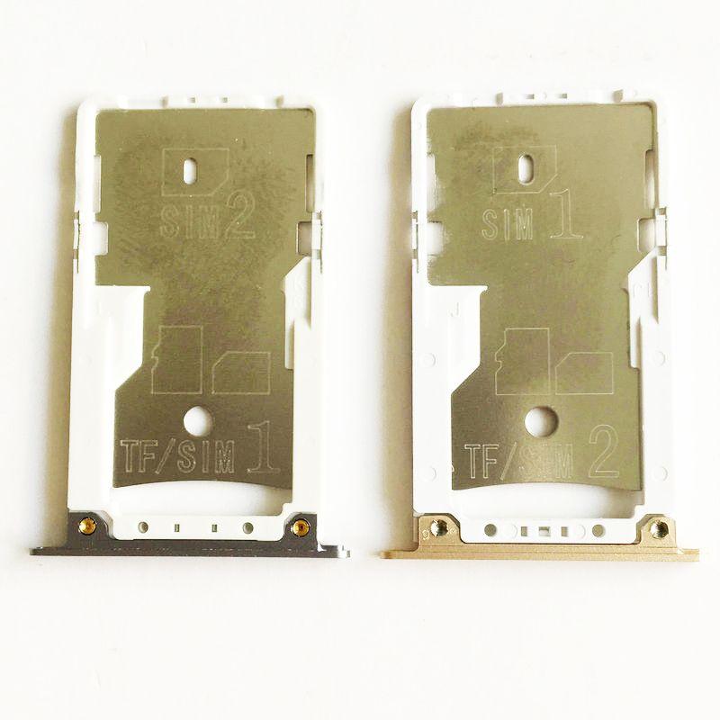 Pour Xiaomi Redmi Note 4 Sim Card Holder Plateau Fente Pour Carte pour Xiaomi Redmi Note 4 Pro Premier 5.5 Pouce Mobile Téléphone