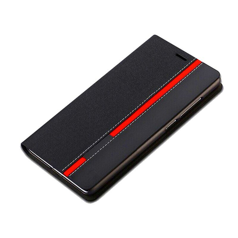 Luxury Business Flip PU Leather Wallet Case For SAMSUNG S10e S9 Plus S8 Note 8 4 5 S4 S5 S6 S7 Edge A5 A7 J4 J6 A750 2018 Cover
