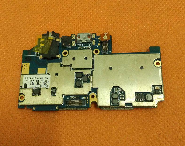 Utilisé carte mère D'origine 2G RAM + 16G ROM Carte Mère pour Elephone P5000 MTK6592 Octa Core 5.0