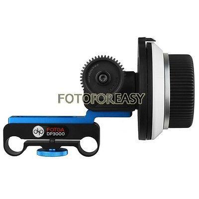 FOTGA DP3000 DSLR Folgen Fokus für Sony Panasonic 15mm Rod Rig A7 A7RII A7S GH4 GH5 A6500 C100 FS7 5D 1D ROT BMPCC video kamera