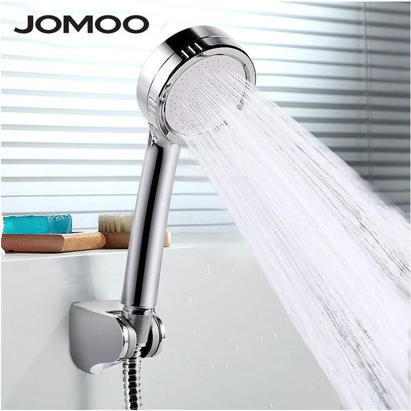 JOMOO pommeau de douche haute pression économie d'eau rond ABS pour wc douchettes de pluie à main têtes de douche avec support tuyau