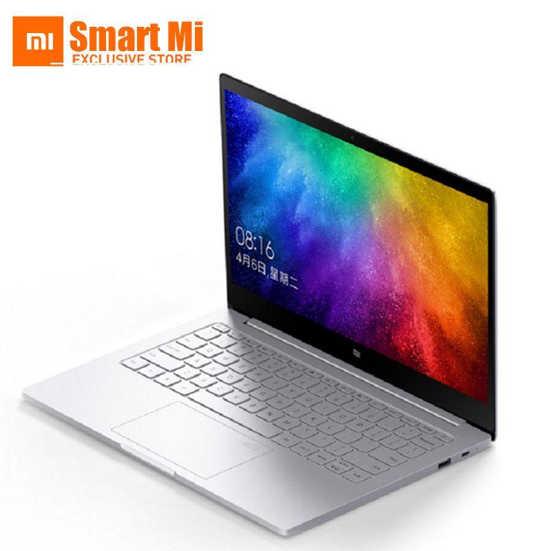 Original 13.3 Inch Xiaomi Mi Notebook Air Fingerprint Recognition Intel Core i5-7200U CPU Intel Windows 10 Ultrabook Laptop