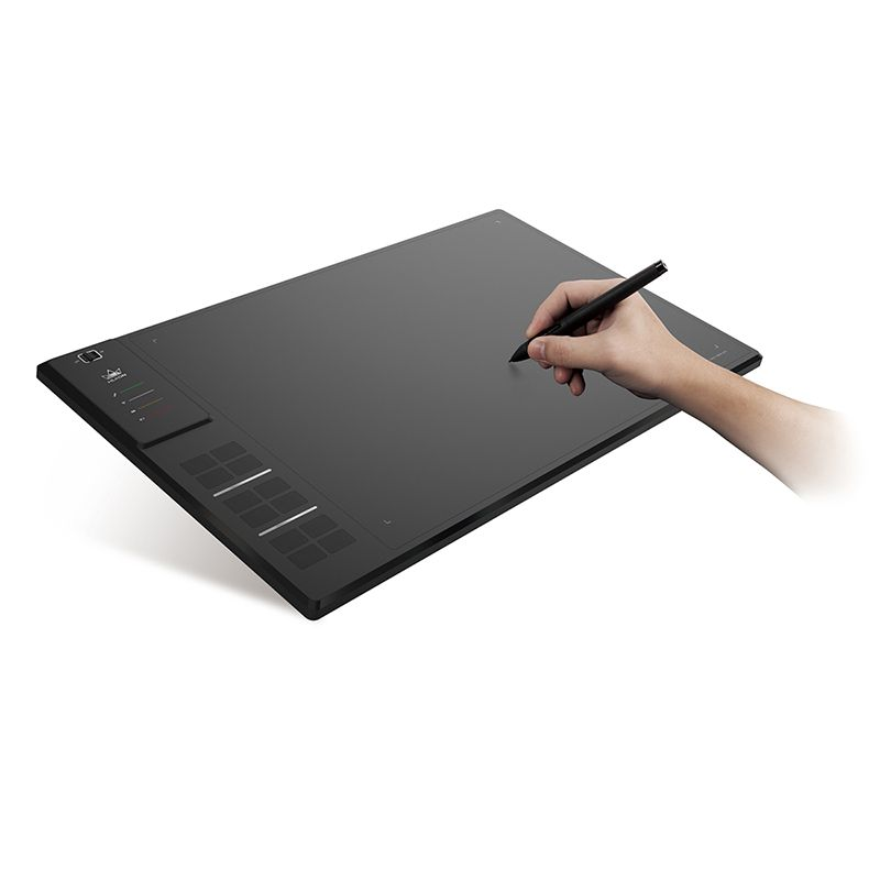 Huion GIANO WH1409 14-inch 8192 Levels Wireless Drawing Tablet Digital Graphic Tablets Pen Tablet for Windows and MAC OS