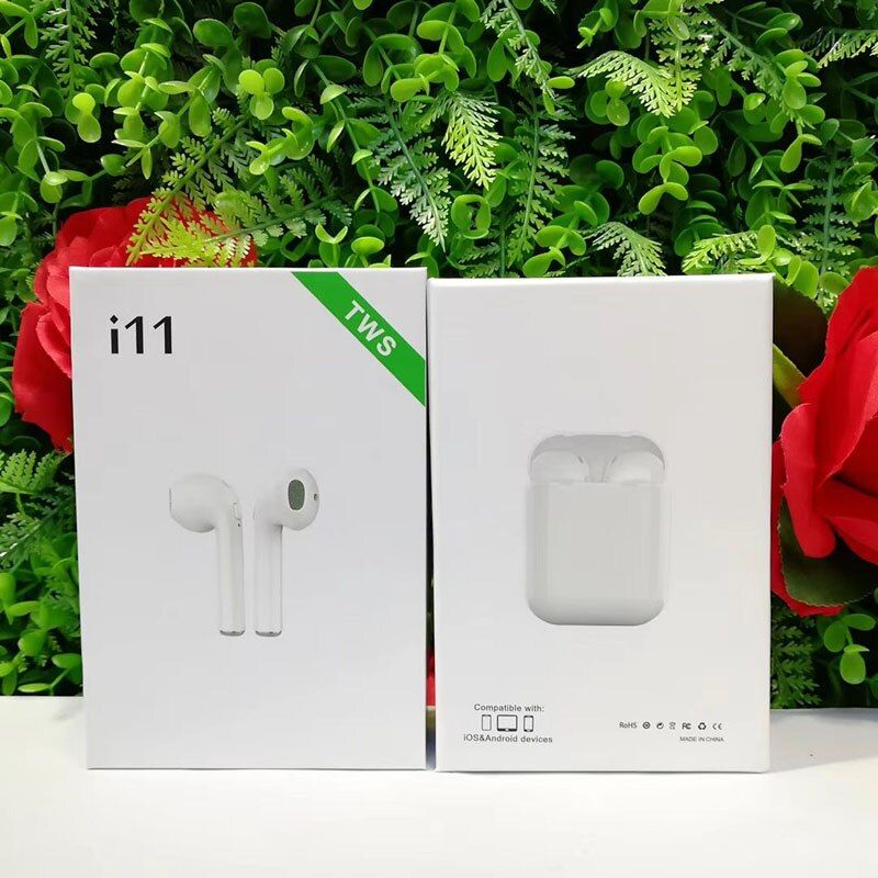 2019 new Original i11 Air tws Wireless Bluetooth 5.0 super bass stereo Ear bud For All cell pk i10 i12 i13 i14 xy pods tws