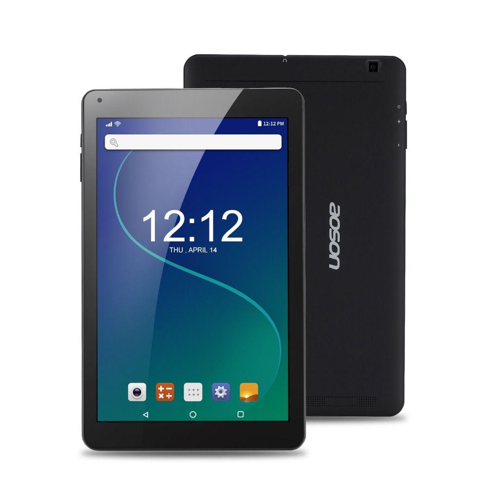 Marque tablet 10.1 pouces comprimés 16 GB ROM 2 GO Android 6.0 Quad Core Ultra mince Tablet PC Haute Résolution bluetooth WIFI GPS