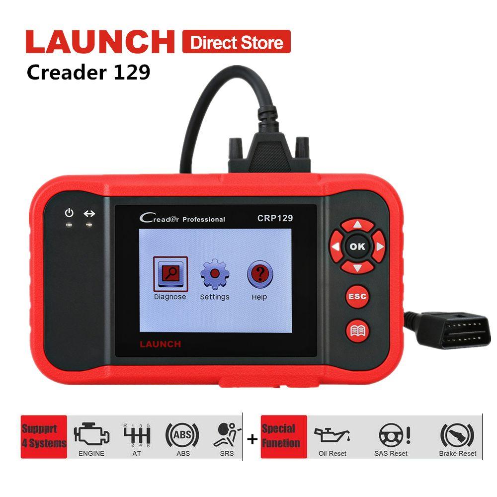 Starten X431 Creader CRP129 Auto Diagnose Werkzeug ABS SRS Airbag Scanner Auto Diagnose Scan Werkzeuge Autoscanner Bremse Öl Reset