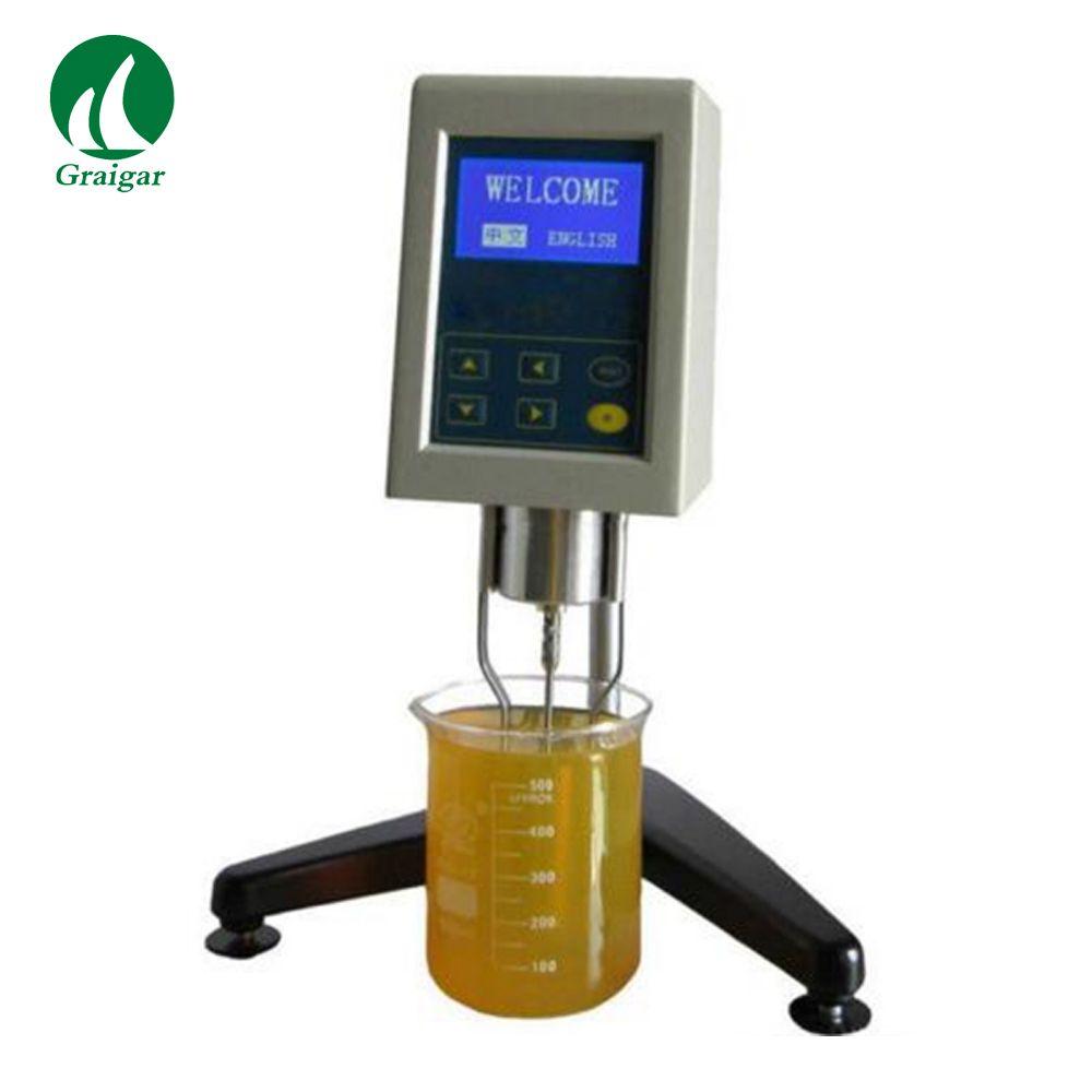 Flüssigkeit Viskosität Tester NDJ-9S Verbessert Digitale Rotationsviskosimeter mit Temperatur Einstellung