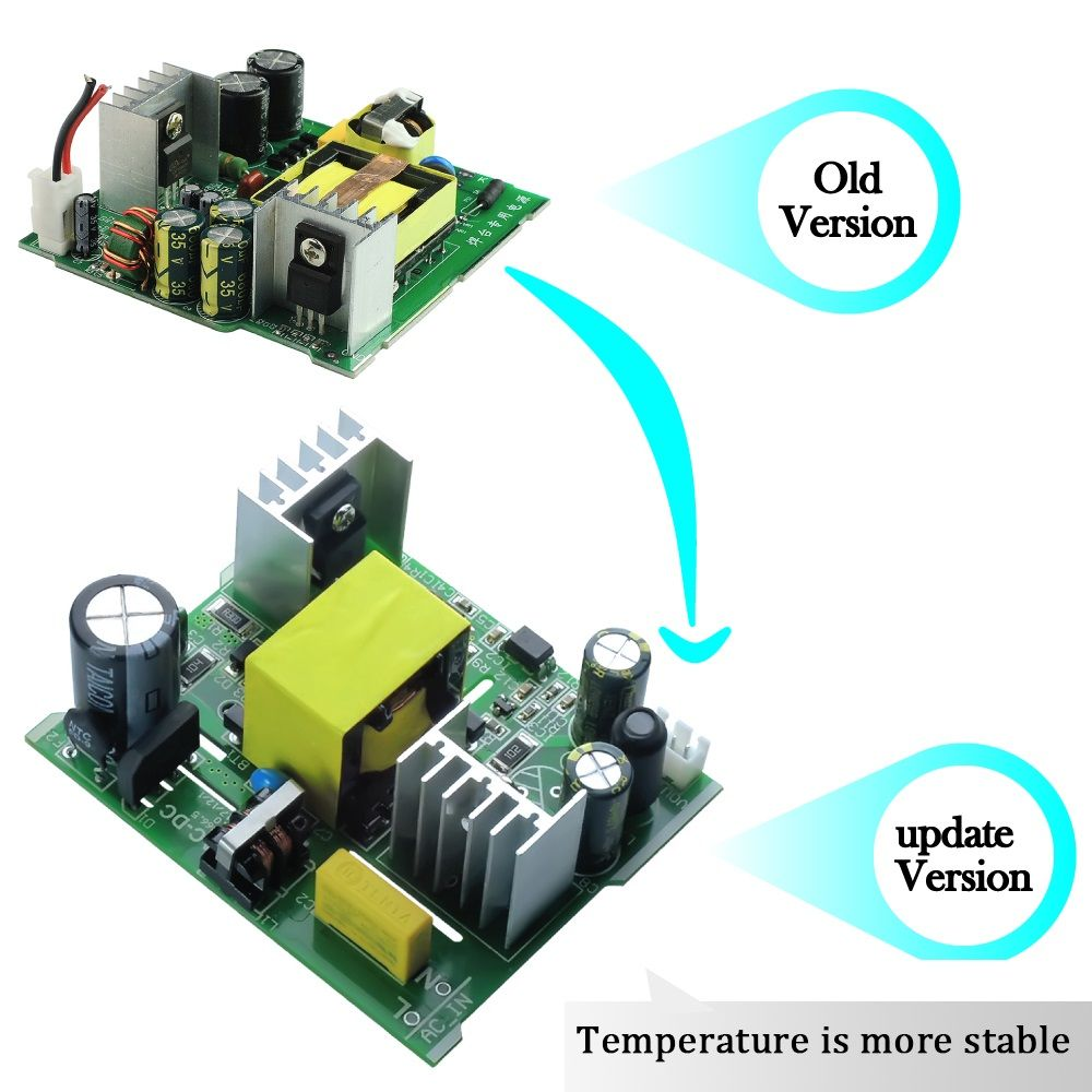 AC-DC 108W Converter AC 110V 220V to DC 24V <font><b>4.5A</b></font> Power Supply Board Transformer for T12 OLED LED Electric soldering station