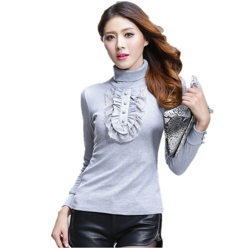 2017 осень-зима Для женщин свитер водолазка толстый хлопок вязаная над Размеры D свитер плюс Размеры XXXXL Женская одежда Пуловеры для женщин