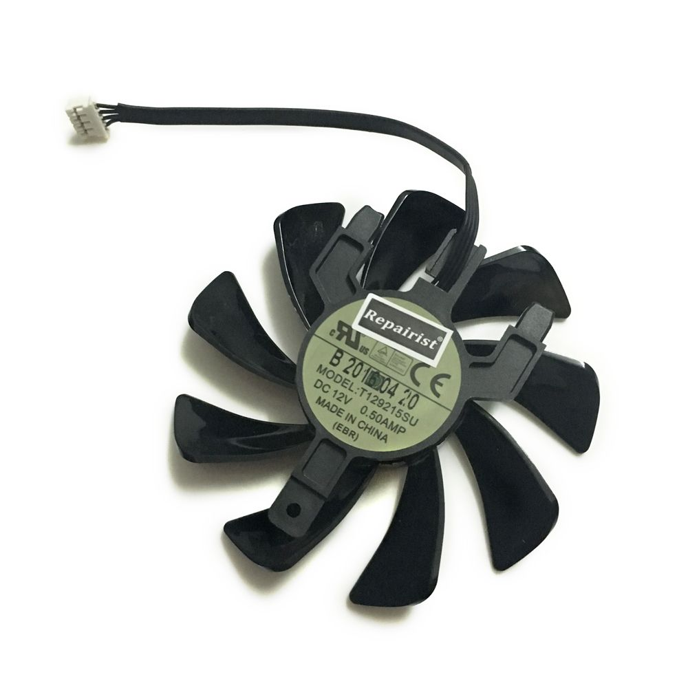 Sapphire RX 570 GPU Cooler Video Card fan for Radeon sapphire RX570 ITX graphics Card Cooling System As Replacement