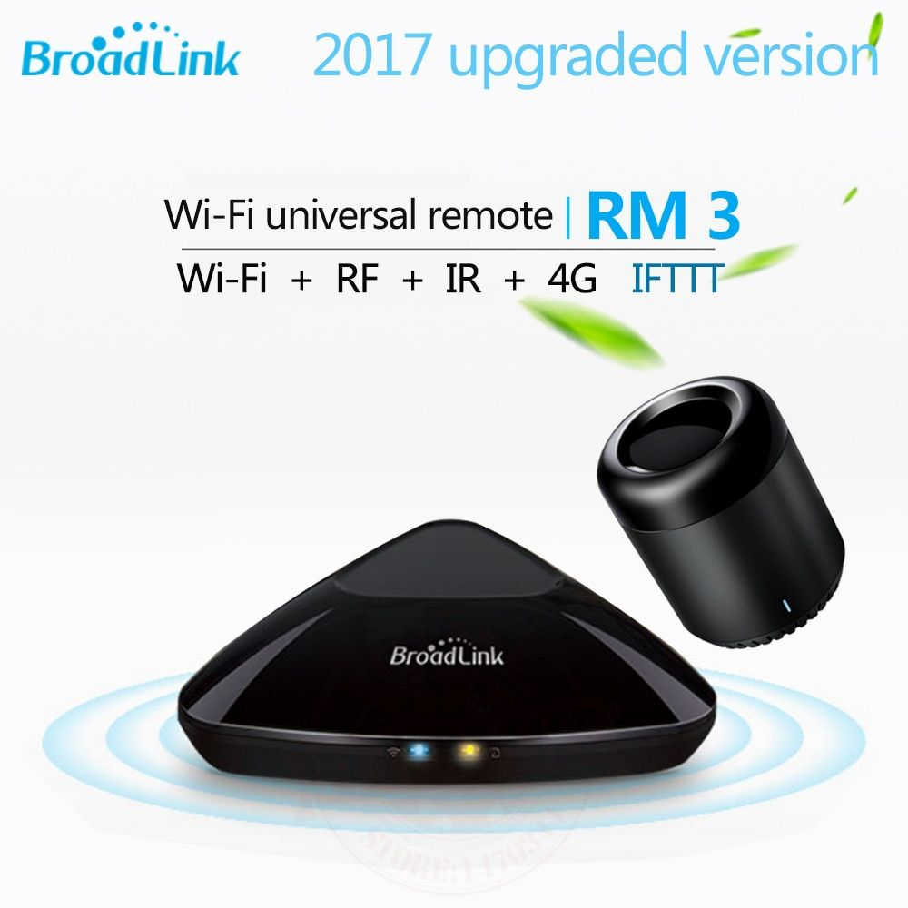 Broadlink RM3 RM Pro+/RM mini3 Smart Home Automation Remote Universal controller Intelligent WIFI+IR+RF Switch For iOS Android