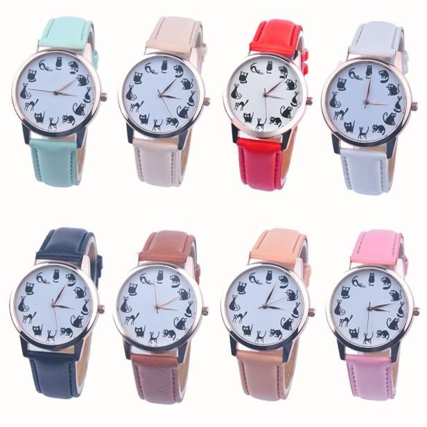 Nice Goodlooking Hot Sale Fashion Alloy Rose Gold & Silver Band Quartz Watch Luxury Women Watches Gift