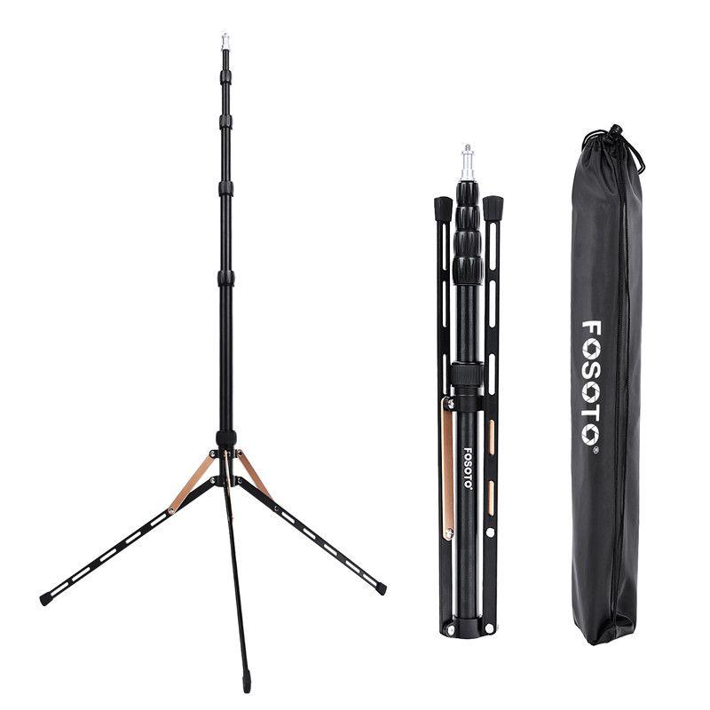 Fosoto FT-190B Gold Led Light Tripod Stand Bag 2.22m Softbox For Photo Studio Photographic Lighting Flash Umbrellas Reflector