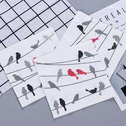 Frische Kreative Vögel Papier Serviette Festliche & Party Cafe Tissue Servietten Decoupage Dekoration Papier 33 cm * 33 cm 20 teile/paket/lot