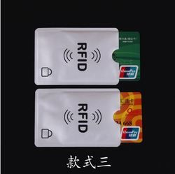 5 pcs/lot Carte Minder RFID Blocage Sans Contact De Débit De Carte De Crédit Slim Protecteur Manches Portefeuilles