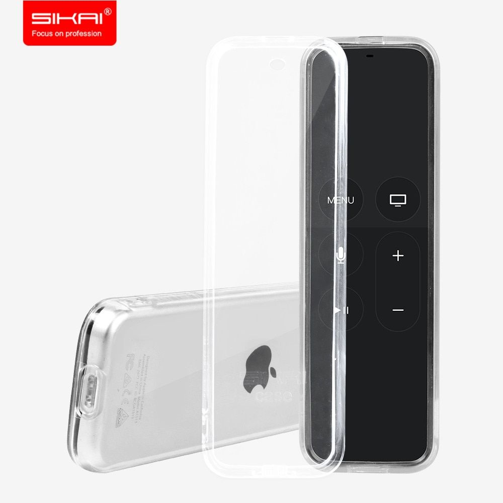 Sikai TPU Étui de protection Couverture Pour Apple TV 4ème Génération Cas À Distance pour Apple TV 4 Télécommande Cas Couverture