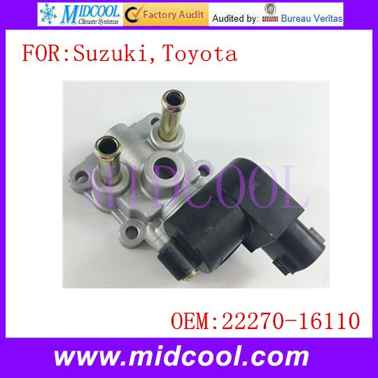 New Auto IAC Idle Air Control Valve use OE NO. 22270-16110 for Suzuki Esteem , Toyota Tercel  Paseo