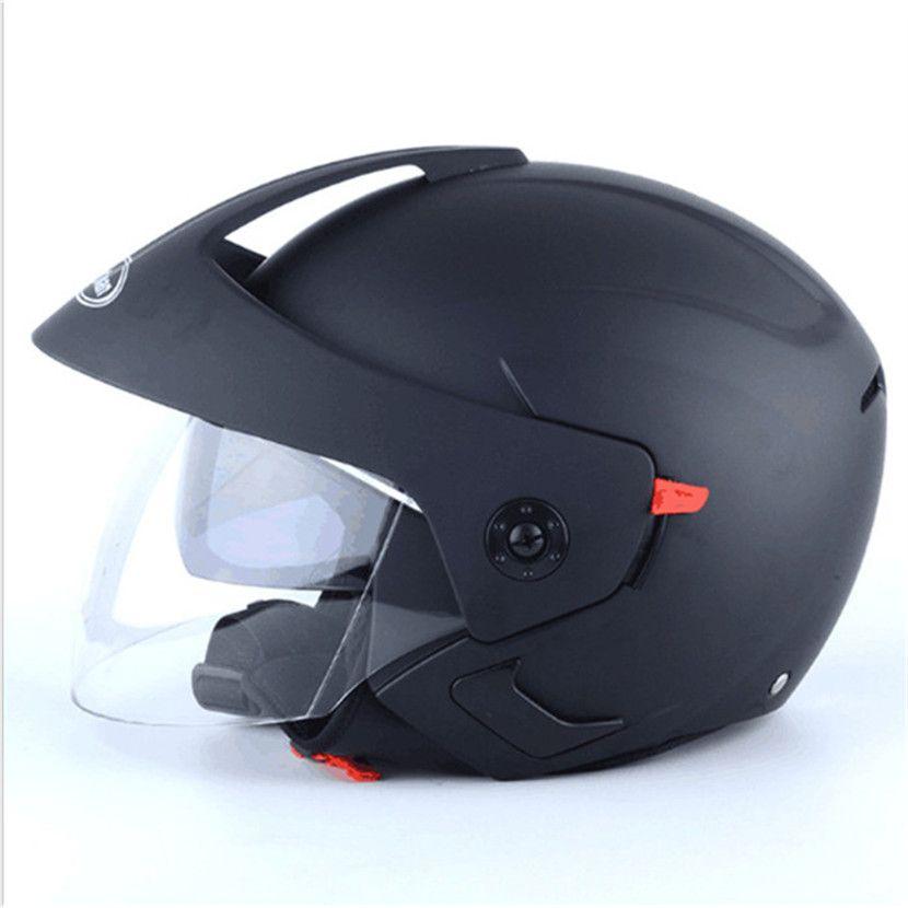 mate black casco moto vintage motorcycle helmet jet capacetes de motociclista vespa cascos para moto cafe racer open face