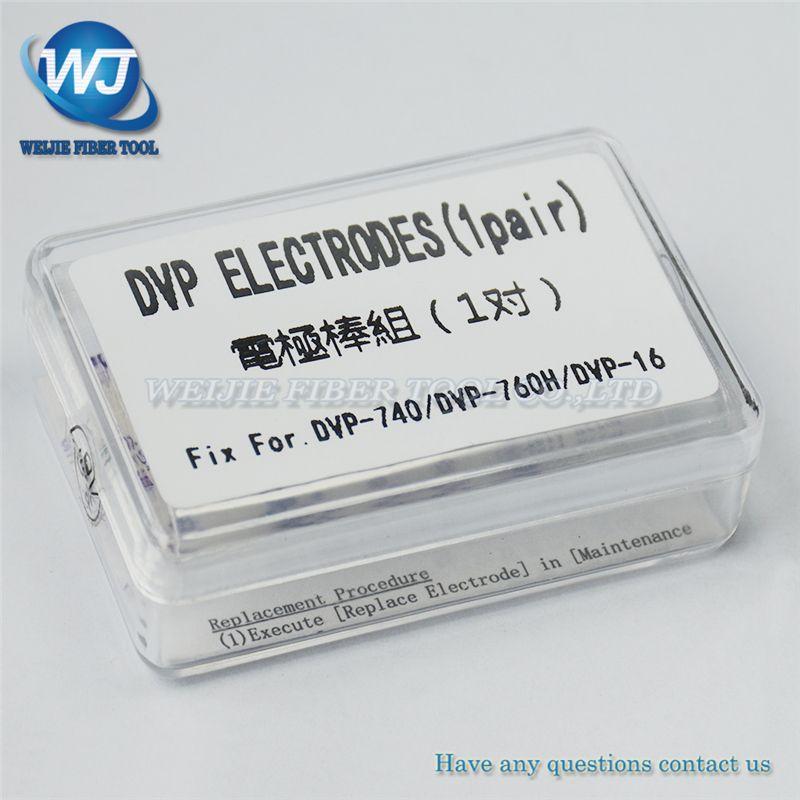 Free shipping Electrodes DVP DVP740 DVP-740 DVP760 DVP-760H Fusion Splicer Electrodes