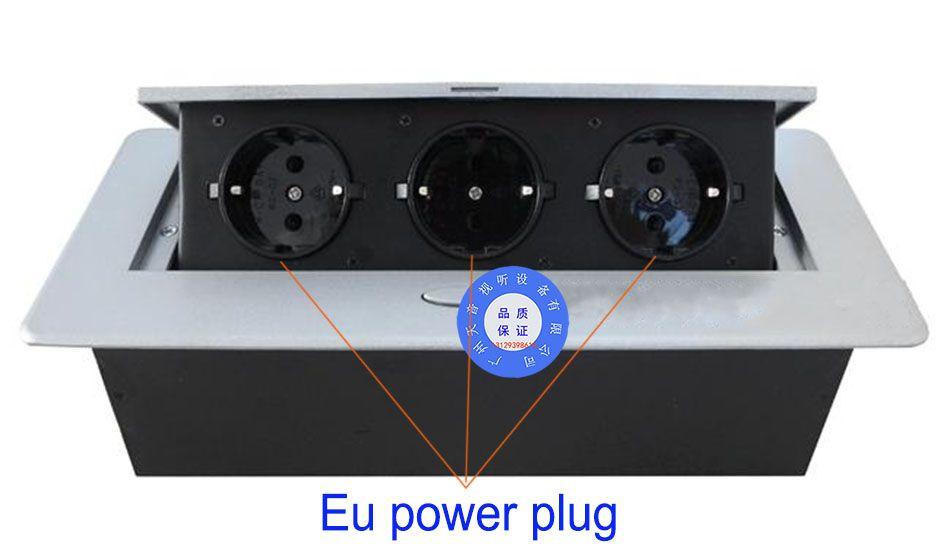 Offres spéciales/Pop-up socket/plug UE prise De Table/caché/Amortissement printemps ouvert sortie D'informations/ bureau prise de bureau/A12